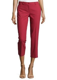 Michael Kors Samantha Cropped Skinny Pants, Rose