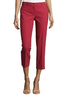 Michael Kors Samantha Cropped Skinny Pants, Rose