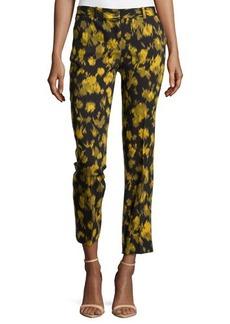 Michael Kors Samantha Leaf-Print Pants