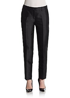 Michael Kors Samantha Silk/Wool Shantung Pants