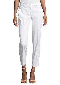 Michael Kors Samantha Skinny Ankle Pants, Optic White