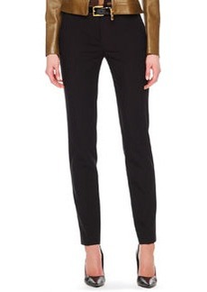 Michael Kors Samantha Skinny Pants, Black