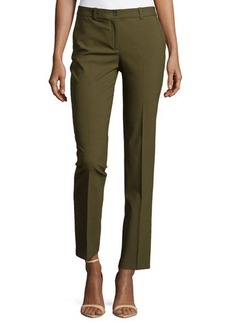 Michael Kors Samantha Skinny Pants, Olive