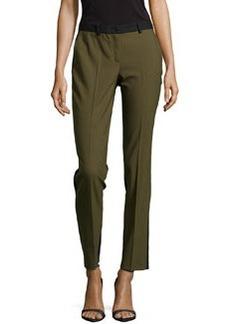 Michael Kors Samantha Two-Tone Slim Pants