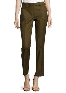 Michael Kors Samantha Utility Pants, Olive