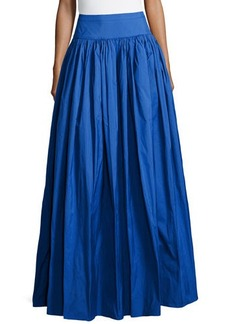 Michael Kors Satin Ball Skirt, Royal