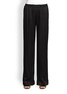 Michael Kors Satin Charmeuse Pants
