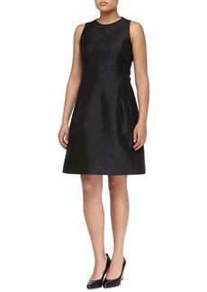 Michael Kors SHANTUNG BELL DRESS