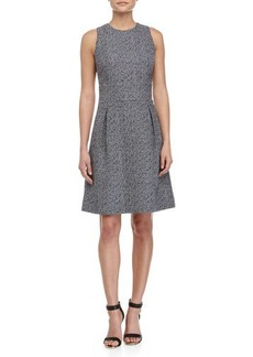 Michael Kors Sleeveless Bell-Skirt Dress