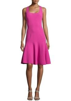 Michael Kors Sleeveless Flutter Dress, Peony