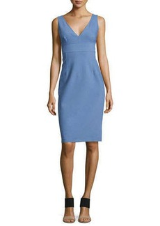 Michael Kors Sleeveless Sheath Dress, Chambray