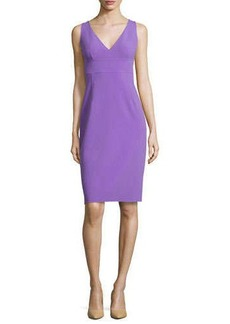 Michael Kors Sleeveless Sheath Dress, Hyacinth