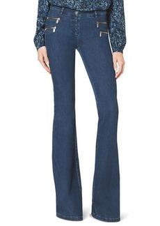 Michael Kors Stretch-Denim Flared Jeans