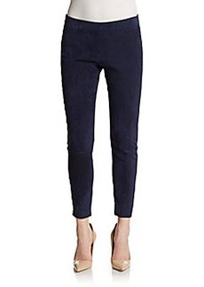 Michael Kors Stretch Suede Leggings