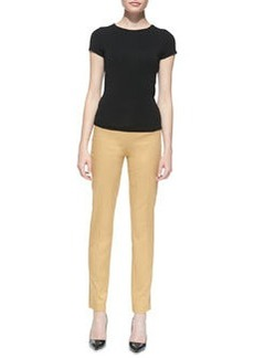 Michael Kors Stretch-Twill Pants, Sandstone