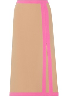 Michael Kors Stretch-wool midi skirt