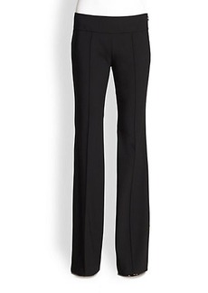 Michael Kors Stretch Wool Side-Zip Pants