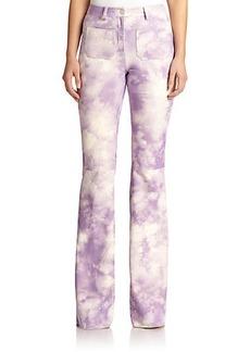 Michael Kors Suede Tie-Dye Pants