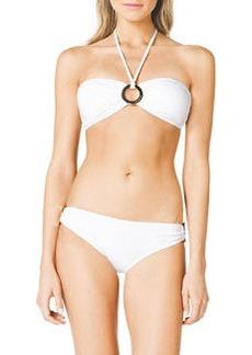 Michael Kors Swimwear Bandeau Ring Bikini