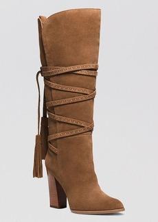 Michael Kors Tall Platform Boots - Jessa High Heel