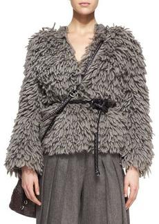 Michael Kors Textured Wool-Blend Sweater