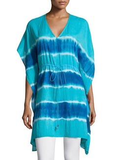 Michael Kors Tie-Dye Kimono Tunic