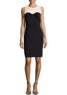 Michael Kors Tissue Crepe Bustier Dress