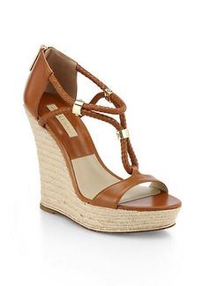Michael Kors Tulia Leather Sandals