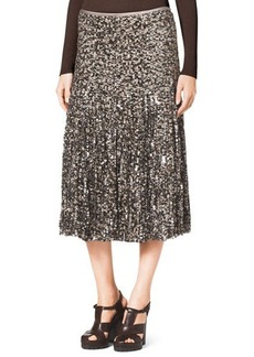 Michael Kors Tulle/Paillette Skirt