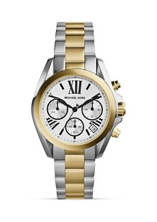 Michael Kors Two-Tone Mini Bradshaw Chronograph Watch, 36mm
