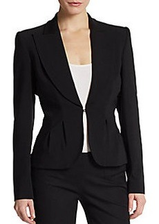 Michael Kors Virgin Wool-Blend Blazer