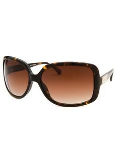 Michael Kors Women's Avila Rectangle Tortoise Sunglasses