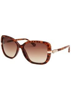 Michael Kors Women's Beverly Butterfly Tortoise Sunglasses
