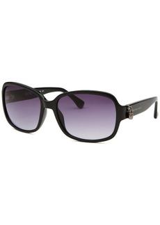 Michael Kors Women's Emma Square Black Sunglasses