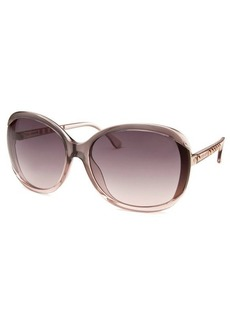 Michael Kors Women's Kinsey Square Mauve Sunglasses