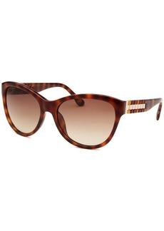 Michael Kors Women's Olivia Cat Eye Black Sunglasses