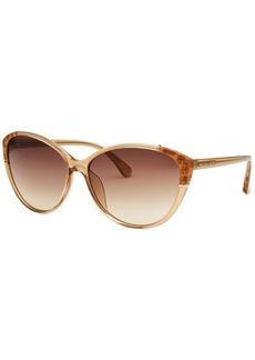 Michael Kors Women's Paige Cat Eye Sand Sunglasses