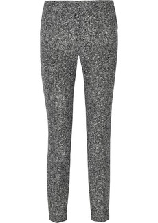 Michael Kors Wool-tweed straight-leg pants