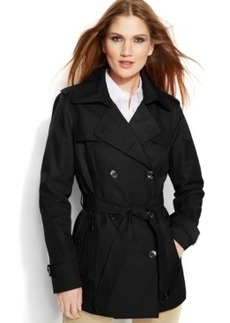 Michael Michael Kors Double-Breasted Belted Trench Coat