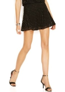 Michael Michael Kors Embellished Eyelet Flared Skirt