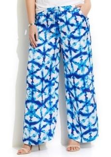 Michael Michael Kors Plus Size Tie-Dyed Soft Pants