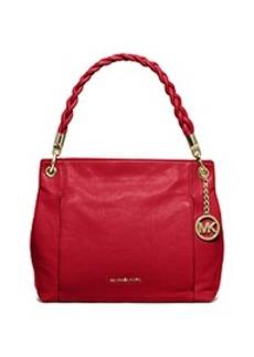 Naomi Leather Top-Handle Bag