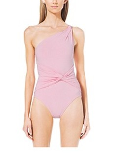 One-Shoulder Maillot Swimsuit