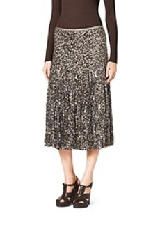 Paillete Fringe Skirt