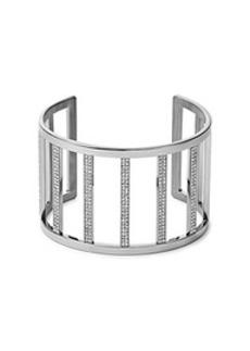 Pavé Silver-Tone Cuff
