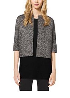 Reversible Mohair and Herringbone Wool Jacket
