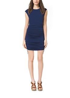 Ruched Jersey Dress, Petite