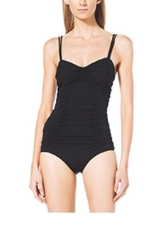 Ruched Maillot Swimsuit