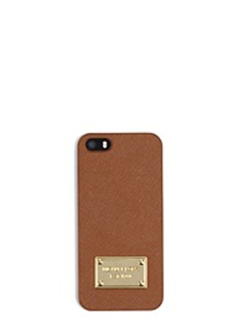 michael kors saffiano leather phone case for iphone 5. Black Bedroom Furniture Sets. Home Design Ideas