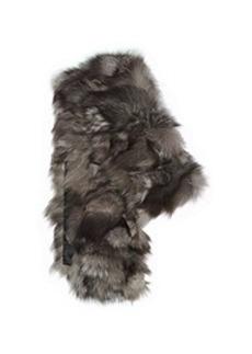 Shredded Fox Fur Scarf